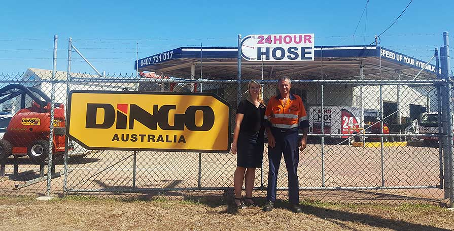 hose and dingo sales workshop Garbutt